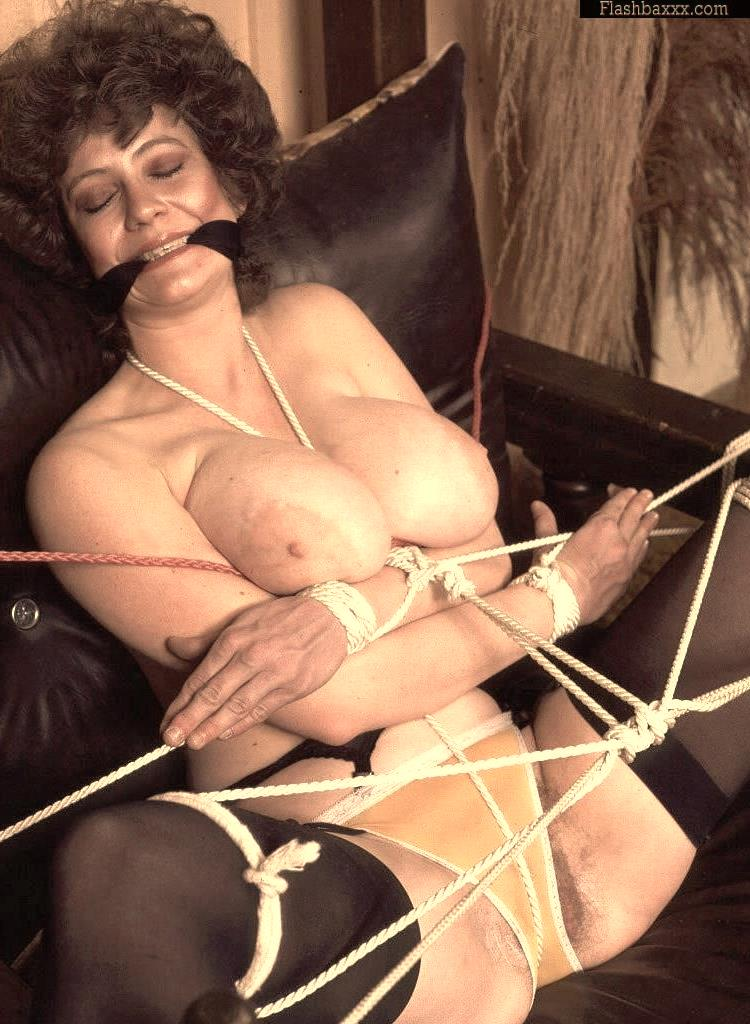 retro bondage actress